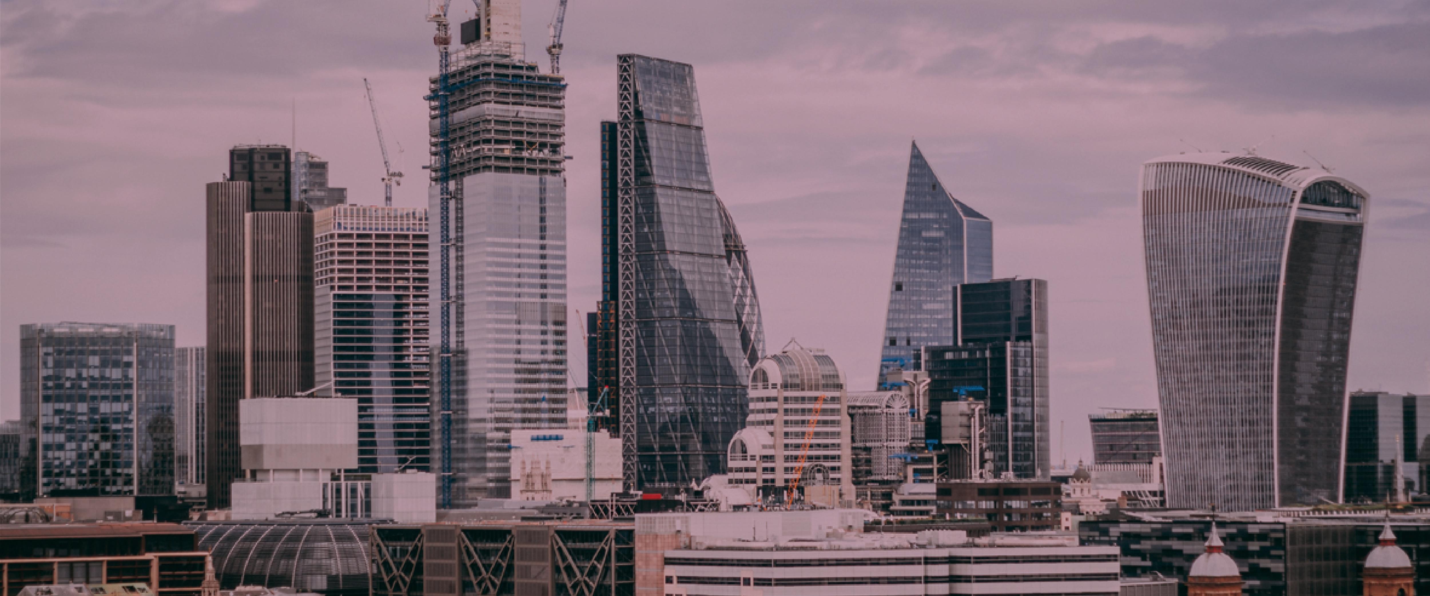london skyline overlay