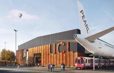 CGI image of UCL's PEARL project, credit: Penoyre & Prasad