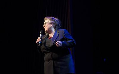 Sophie Scott at the Science of Laughter