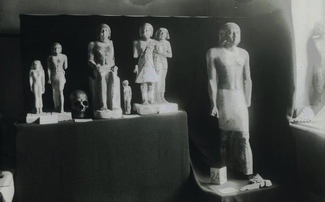 Objects on display