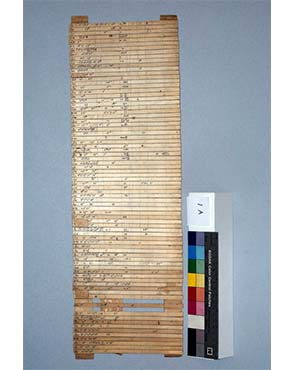 One set of Petrie's sequence dating strips. Copyright Petrie Museum of Egyptian Archaeology.