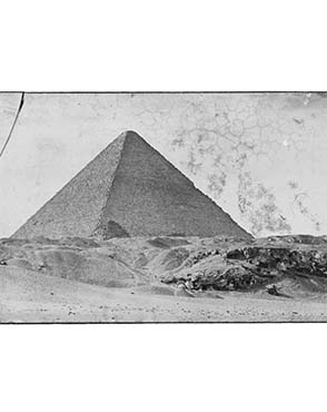The Great Pyramid. Copyright The Petrie Museum of Egyptian Archaeology.