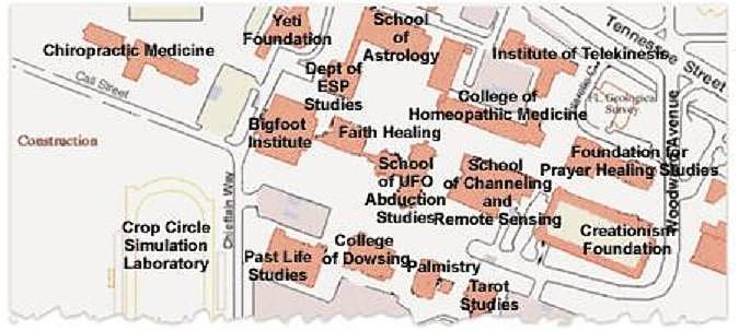 Fsu Academic Map