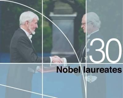 30 Nobel laureates