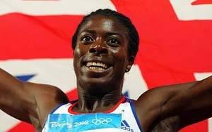 Christine Ohuruogu…