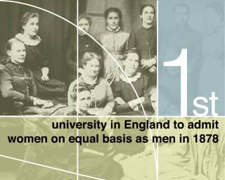 UCL was the first university in England to admit women on equal basis as men in 1878…