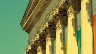 UCL portico (coloured)