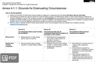 Thumbnail of Chapter 4 - Grounds for Extenuating Circumstances
