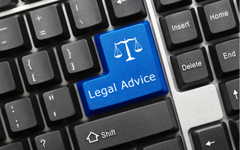 Legal Advice Button