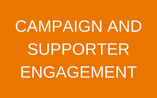 Campaign and Supporter Engagement Button