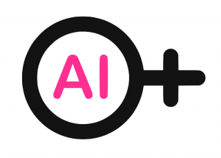 """""""AI"""" within the circle of the female symbol"""