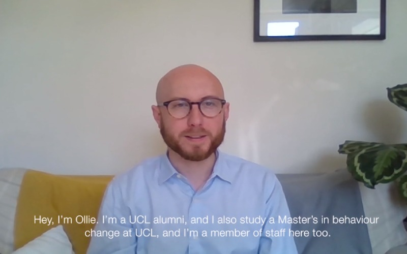 UCl alum, student and staff member Ollie Day