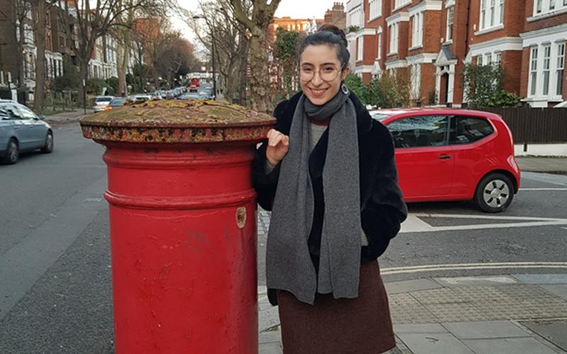 UCL alumna Sahava Baranow