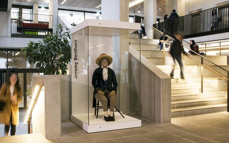 Jeremy Bentham's auto-icon.