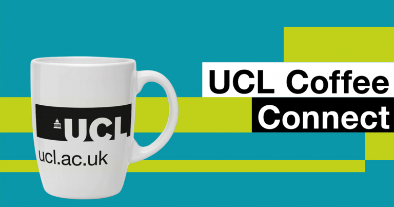 UCL Coffee Connect banner
