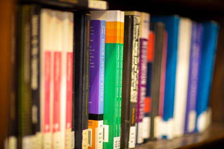 Library books image