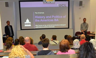 UCL Americas success at first undergraduate open day