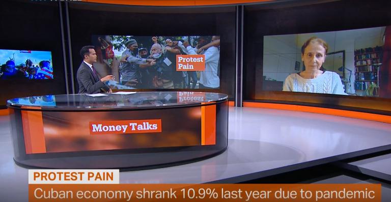 Dr Emily Morris interview for TRT Money Talks
