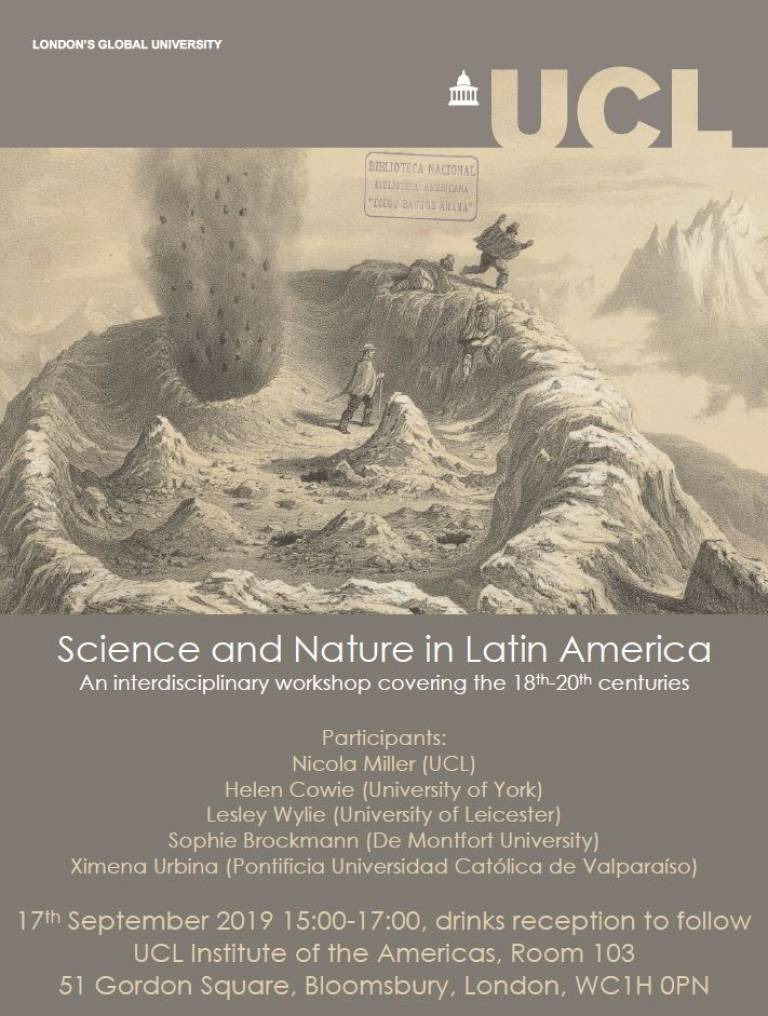 Science and nature event poster