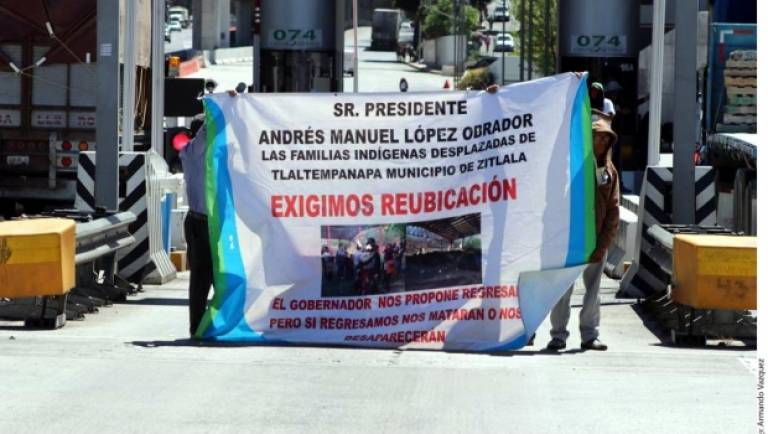 Event image for Forced Internal Displacement Triggered by Organised Crime in Central Mexico