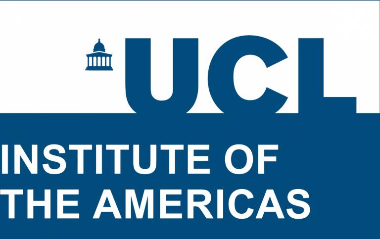 UCL Institute of the Americas blue logo