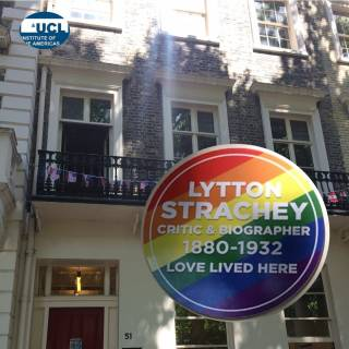 51 Gordon Square + Rainbow Plaque