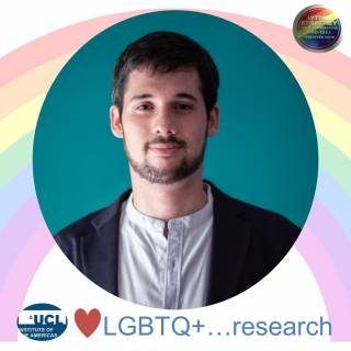 Dr Patricio Simonetto for LGBTQ+ Month