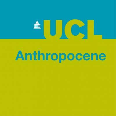 UCL Anthropocene logo Blue/Green