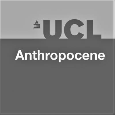 UCL Anthropocene logo B&W