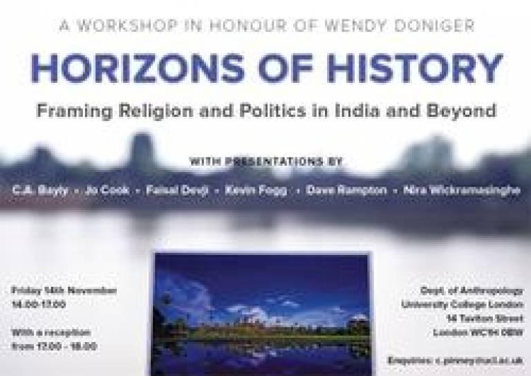 Horizons of History Poster
