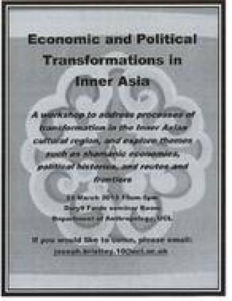 Inner Asia Workshop Poster
