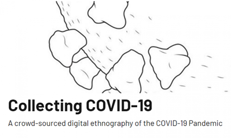 Collecting COVID-19 Blog Icon