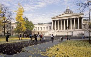 UCL Quadarangle in Autumn