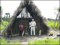 Farm hut, Mogbuama, 2007