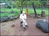 At home, Malema, 2007