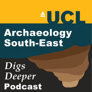 Archaeology South-East Digs Deeper podcast logo