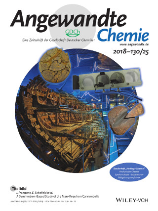 UCL Institute of Archaeology PhD project featured on front cover of prestigious chemistry journal