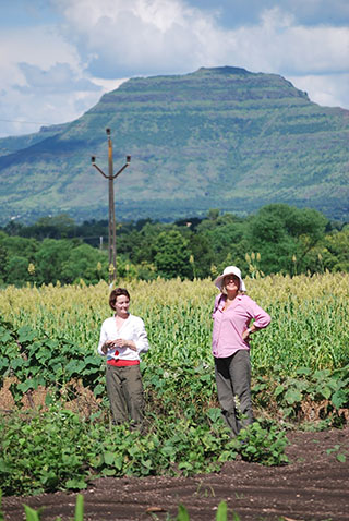 Alison Weisskopf on fieldwork in India, 2010