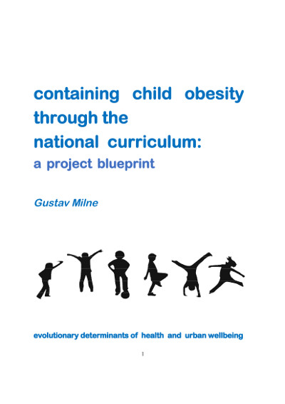 Blueprint report (cover): Containing childhood obesity