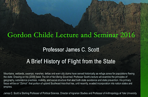 The Gordon Childe Lecture 2016: A Brief History of Flight from the State