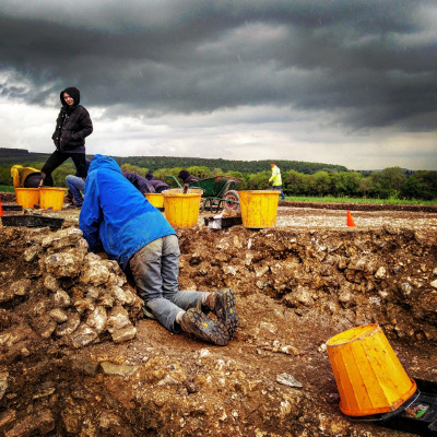 UCL Institute of Archaeology student fieldcourse
