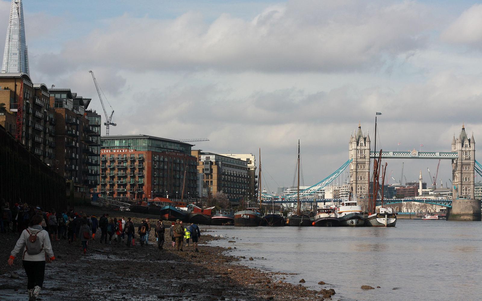 Thames Foreshore 2017 photo Charlotte Frearson (UCL IoA)