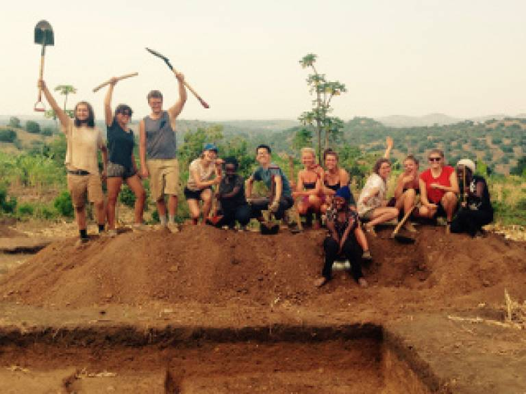 Countdown to UCL: think differently, think archaeology