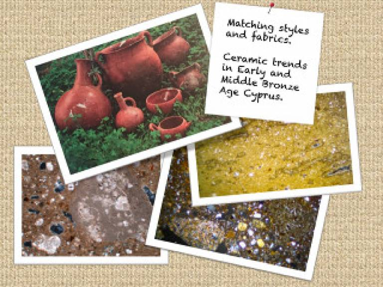 Matching styles and fabrics: Ceramic Trends in Early and Middle Bronze Age Cyprus