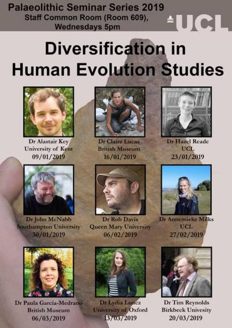 Diversification in Human Evolution Studies Seminar Series