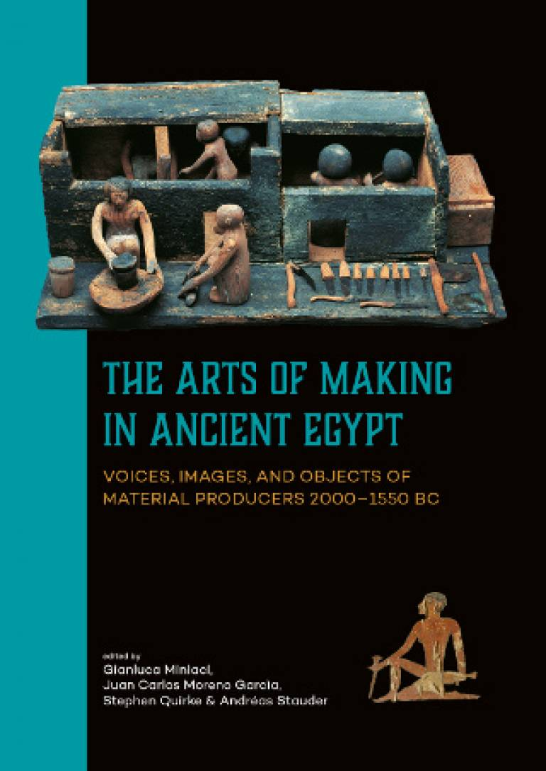 The Art of Making in Ancient Egypt (new edited volume)