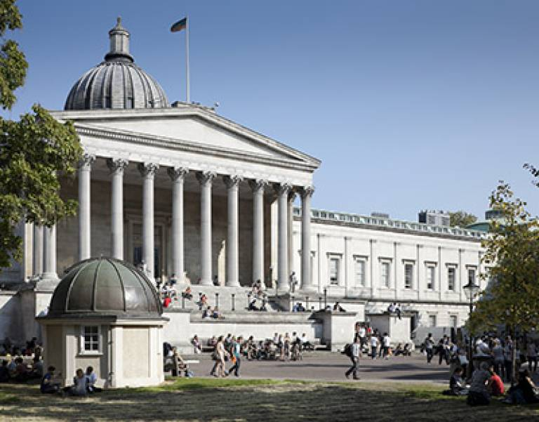 UCL campus (Image copyright Matt Clayton)