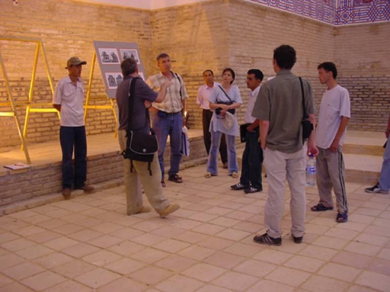 Discussions in Sultan Sanjar