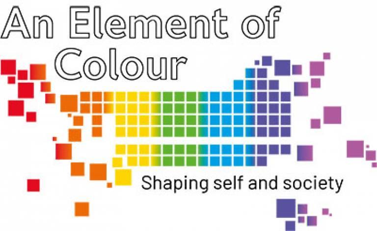 An Element of Colour (MA Museum Studies student exhibition) logo