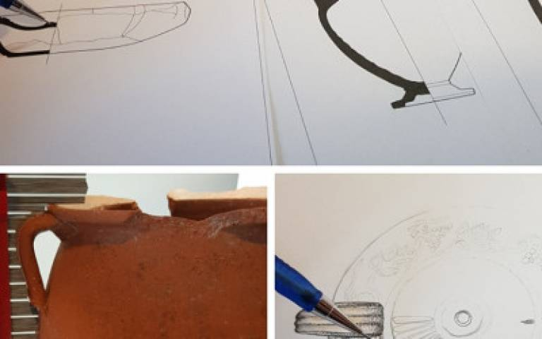 Illustrating archaeological ceramics (workshop)